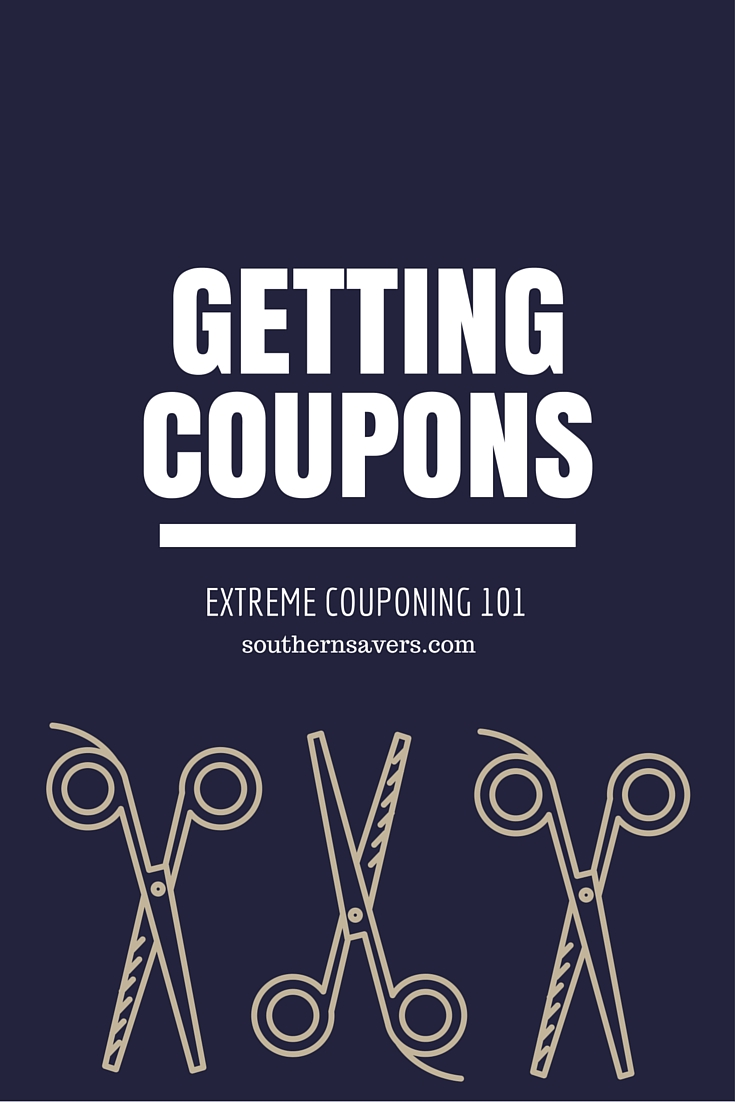 Extreme Couponer 101 Getting Coupons Southern Savers