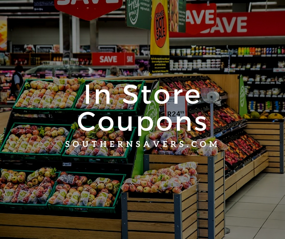 In Store Coupons