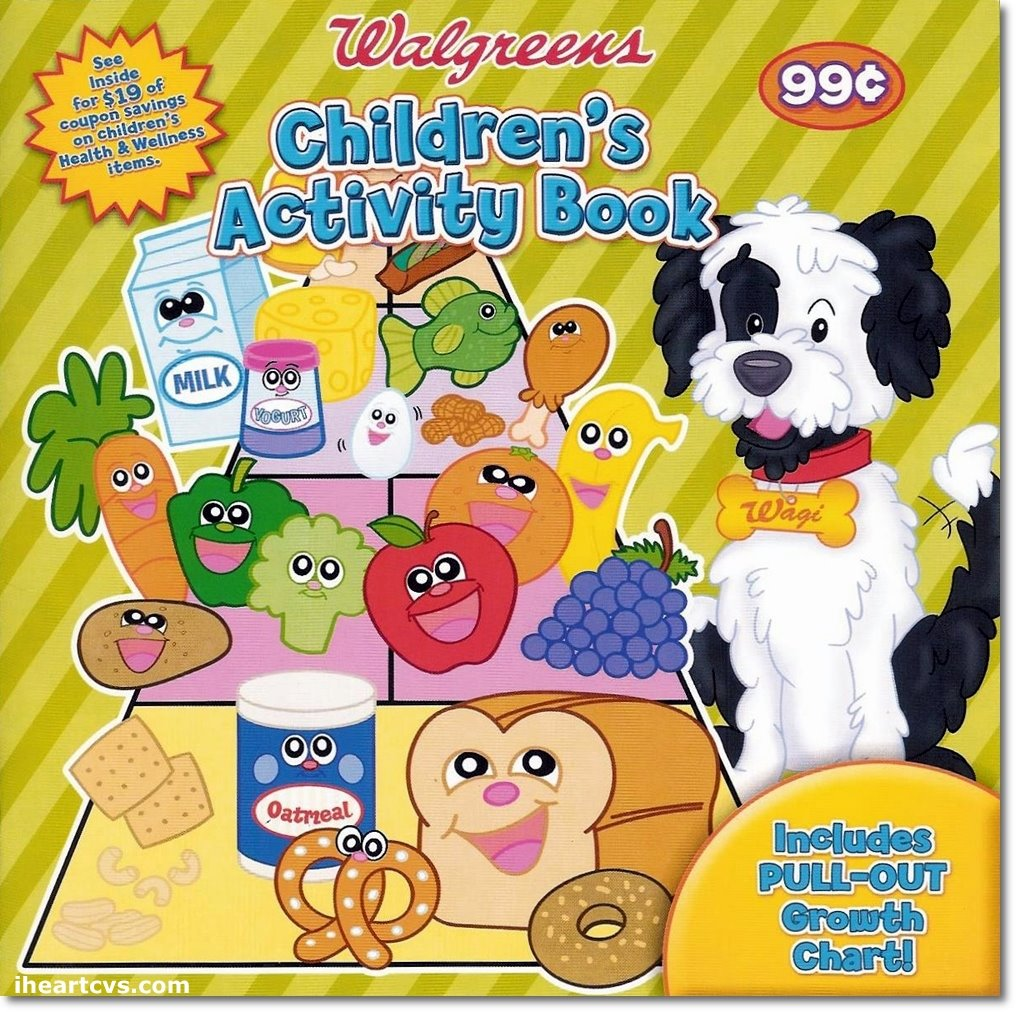 Walgreens Childrens Activity Book Walgreenscoupons