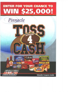 toss for cash