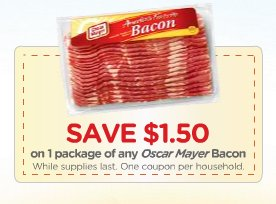 150 Off Oscar Mayer Bacon Hot on oscar mayer bacon coupons
