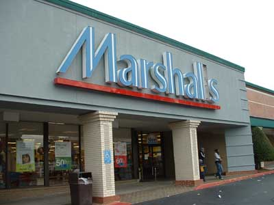 Marshalls department store coupons