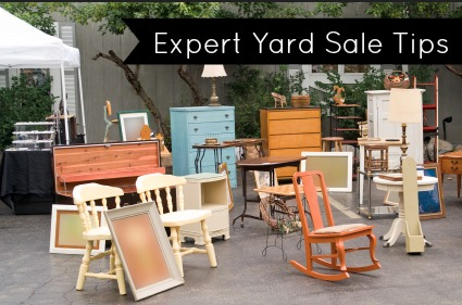 expert yard sale tips
