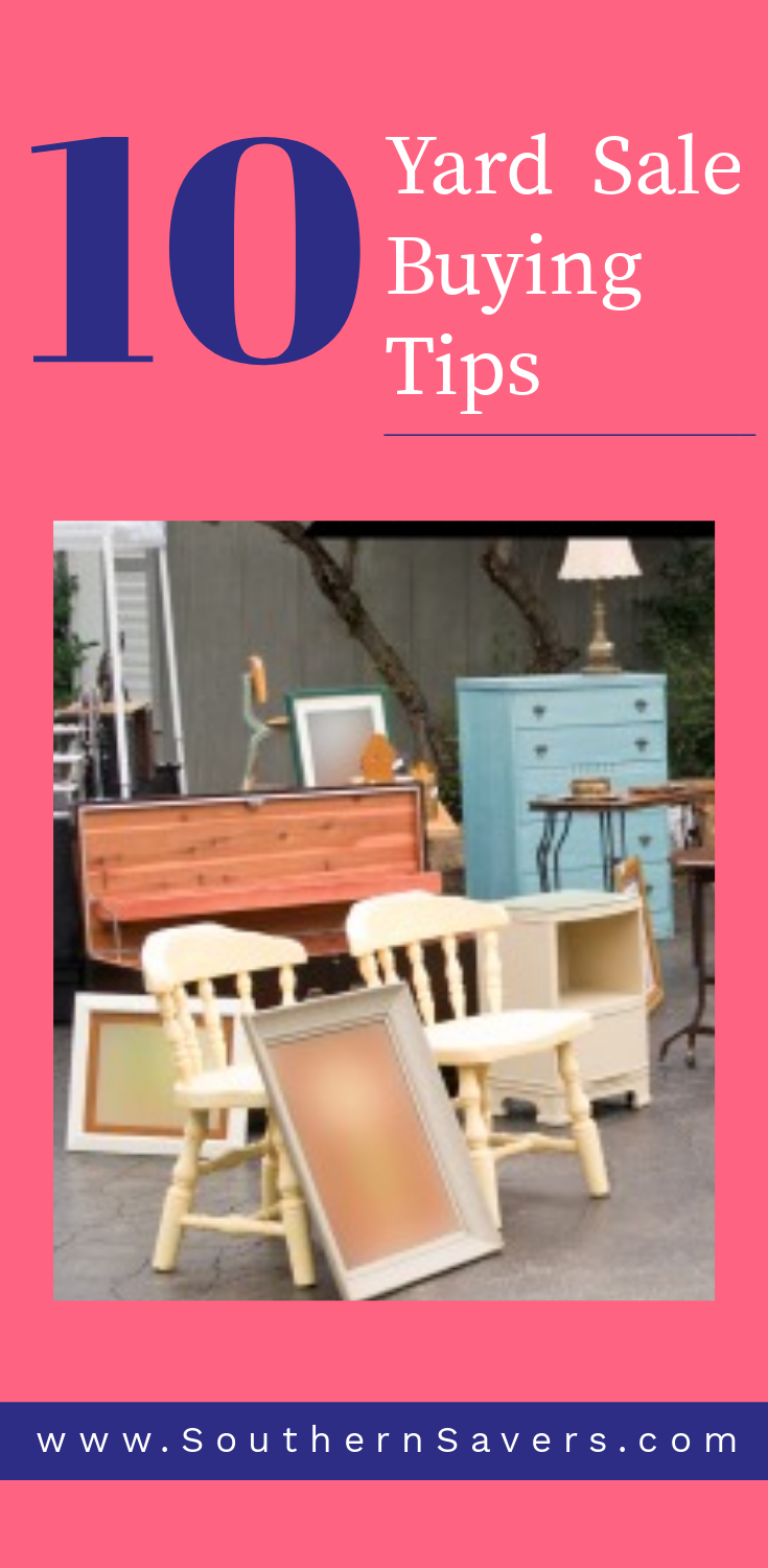 10 Yard Sale Buying Tips to Grab Great Deals