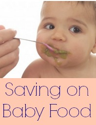 Saving on baby food.
