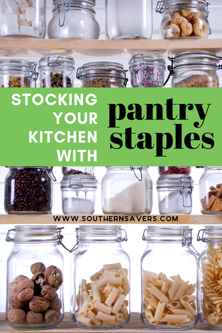 Cooking from scratch may be one of your priorities, but can you do that and still save money? Use these pantry staples resources to help you get organized!