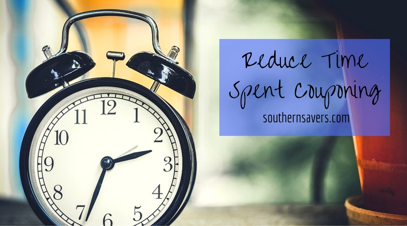 reduce time spent couponing