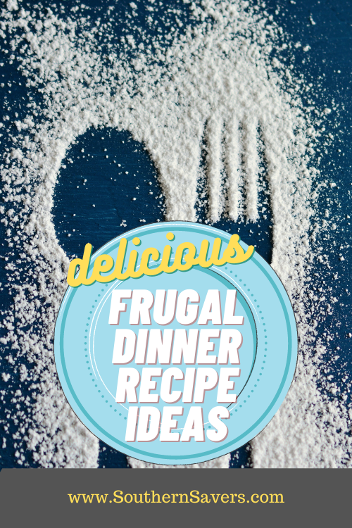 Use what may seem like random ingredients you got on sale to make delicious meals! These frugal dinner recipe ideas use commonly on sale food items!