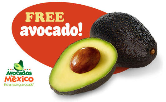 free avocado coupon