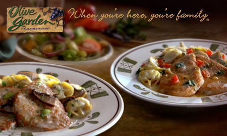 Olive Garden 5 Off Any 2 Dinner Entrees Southern Savers