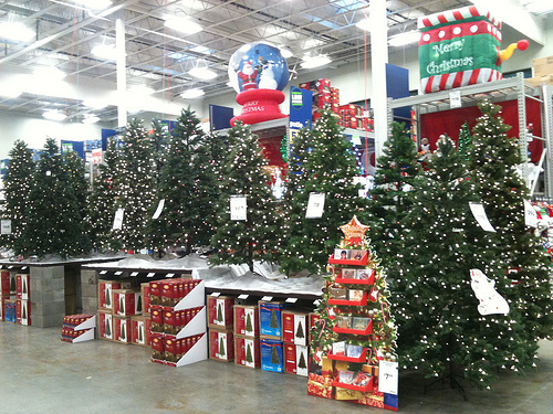 christmas decorations at lowes
