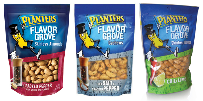 Planters Flavor Grove Almonds