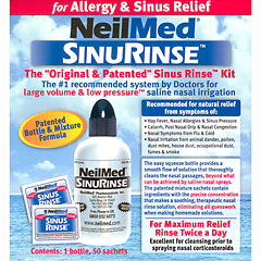 how to use saline nasal rinse