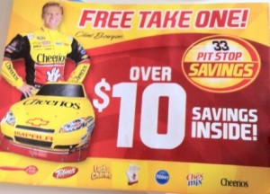 Pit Stop Savings Coupon Booklet