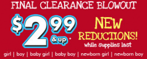 Children's Place Clearance