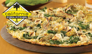 Free $10 California Pizza Kitchen Gift Card