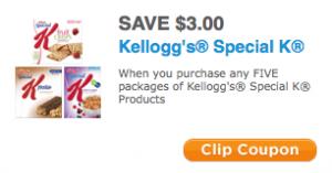 Kellogg's Printable Coupons