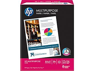 Free HP Multipurpose Paper after Rebate