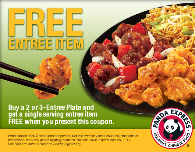Panda express printable coupons