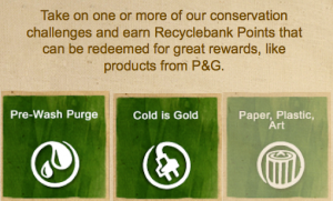 RecycleBank P&G Challenge