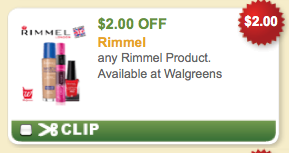 image about Rimmel Printable Coupons known as Rimmel Printable Coupon: $2 off :: Southern Savers