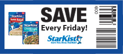 StarKist Pouch Printable Coupon