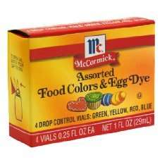 food coloring expiration