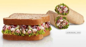 Arby's Chicken Salad Sandwich