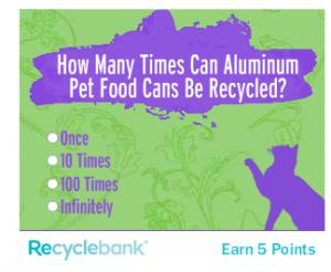 Purina Recyclebank Quiz