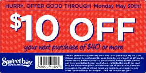 Sweetbay Coupon