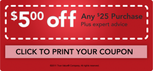 True Value Printable Coupon