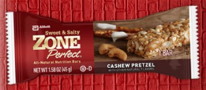 Zone Perfect Sweet & Salty Bar