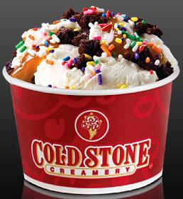 cold stone b1g1 creations
