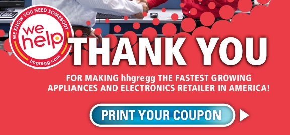 Hhgregg coupons in store
