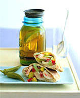 Shrimp and Mango Pitas Recipe