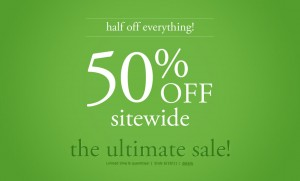 Coldwater Creek 50% off