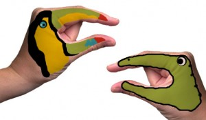 Silhouette SD Hand Puppet Tattoos