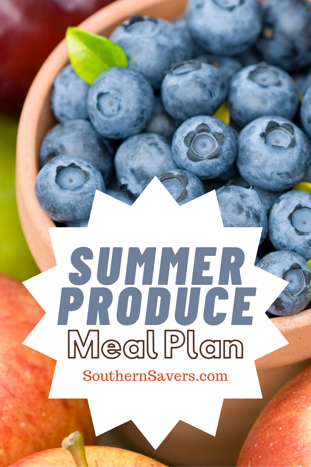 Inspiration for this meal plan came from the surplus of summer produce available at the grocery store, the farmers market, and maybe even your own garden!