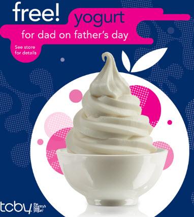 free tcby yogurt