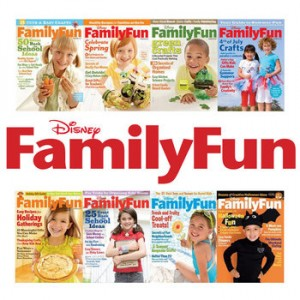 Disney Family Fun Magazine