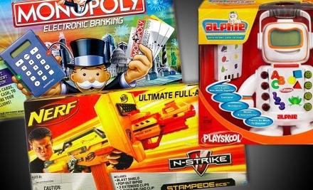 Groupon Hasbro Toys