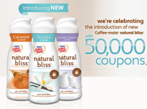 Coffee Mate Natural Bliss Coupon