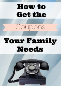 There's an easy way to get coupons for the brands your family needs!