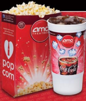 photo relating to Amc Printable Coupons referred to as AMC Theaters Printable Coupon: 50% off Combo Pack