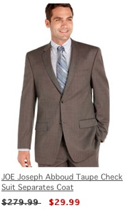 Men's Warehouse Suit Coats $30 or Pants $20! :: Southern Savers