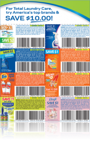 P&G Laundry coupons