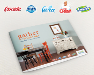 Procter & Gamble Gather Together Coupon Booklet