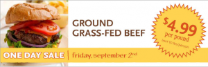 Whole Foods Grass Fed Beef Sale