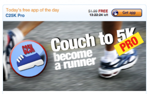 Free Couch to 5K App