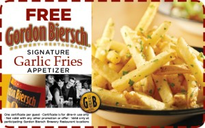 Gordon Biersch coupon